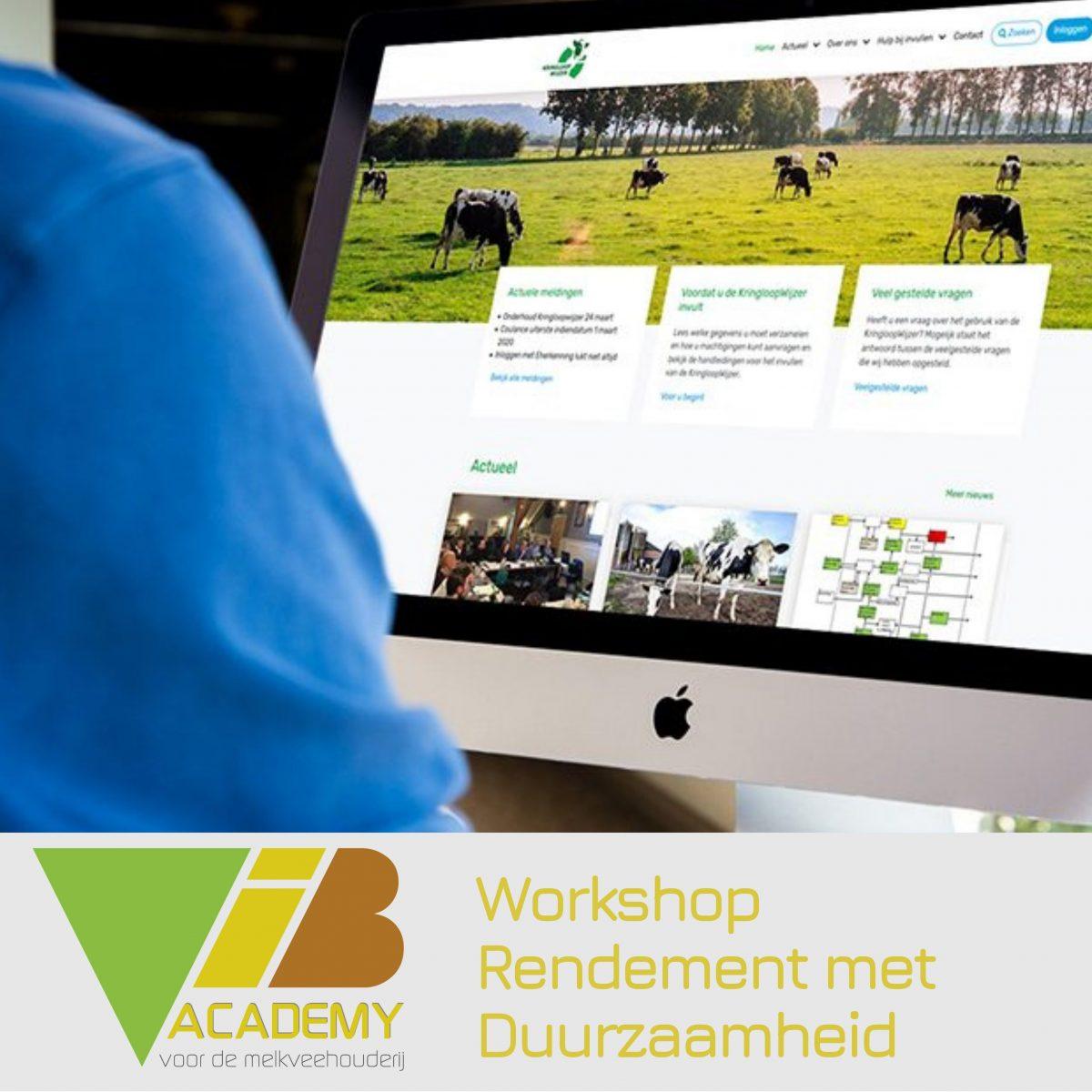 Workshop Rendement met Duurzaamheid